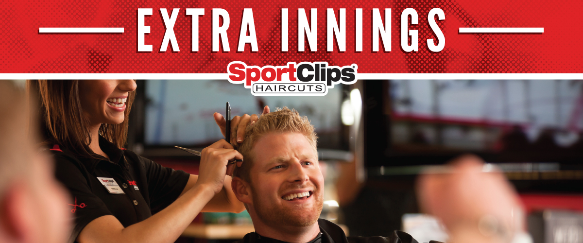 The Sport Clips Haircuts of Rome  Extra Innings Offerings